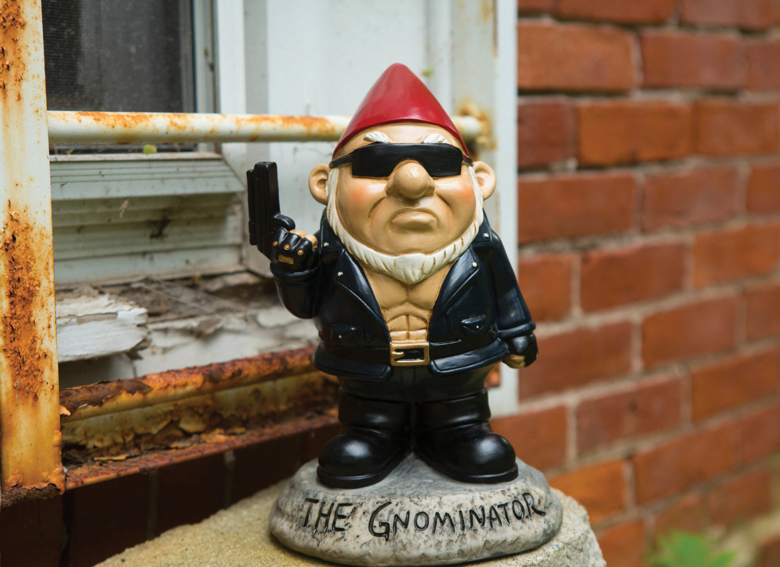 Gnome the Gnominator - Garden Gnome | at Mighty Ape NZ