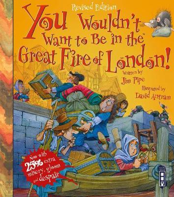 You Wouldn't Want To Be In The Great Fire Of London! image