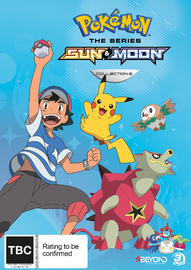 Pokemon The Series: Sun & Moon - Collection 2 on DVD