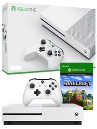 Xbox One S 1TB Minecraft Console Bundle for Xbox One