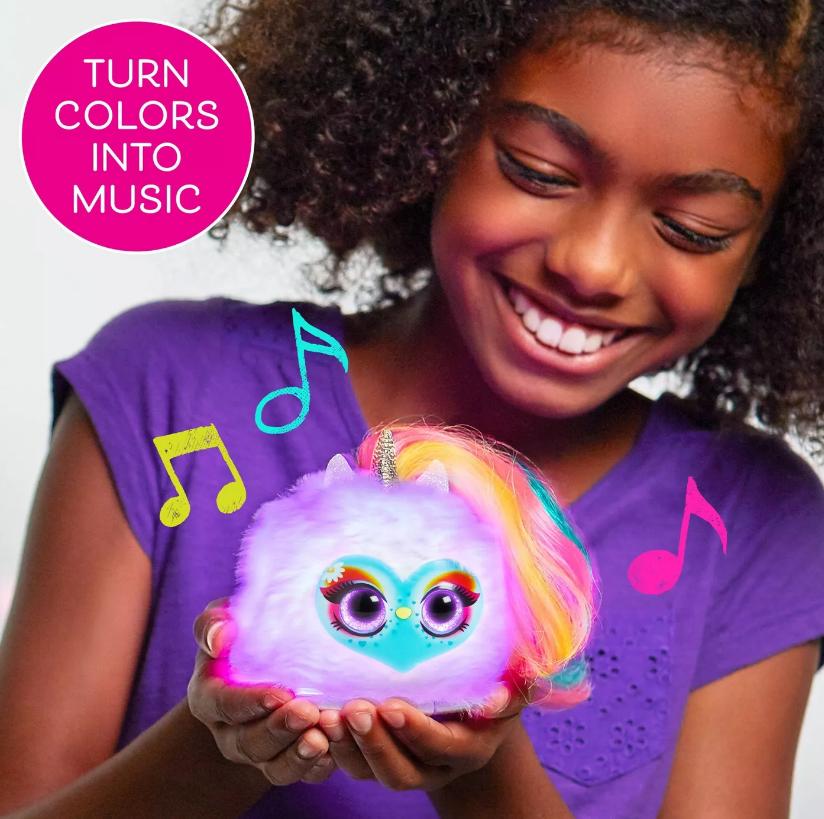 Pomsies: Lumies Interactive Plush - Sparkle Rush image