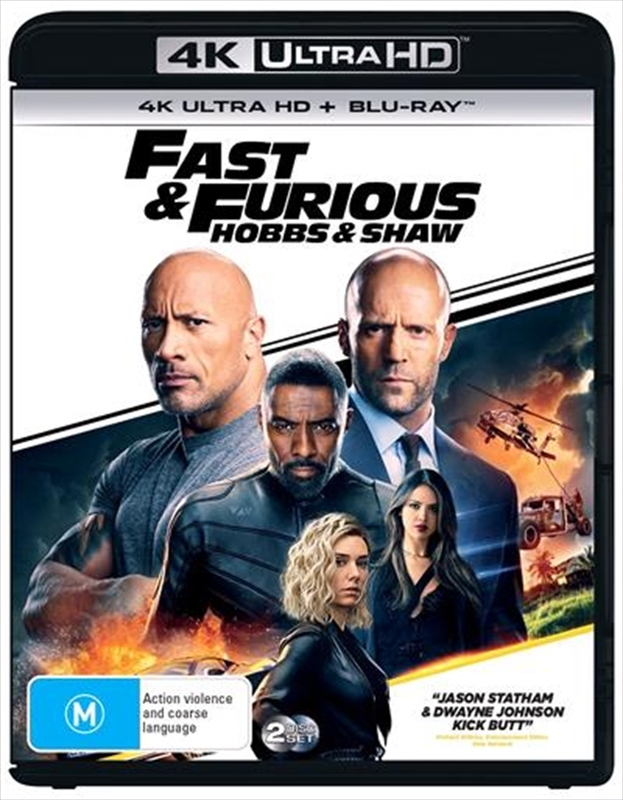 Fast & Furious Presents: Hobbs And Shaw on UHD Blu-ray