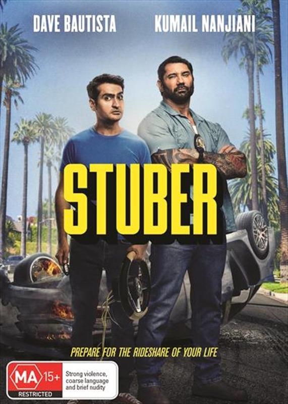 Stuber on DVD