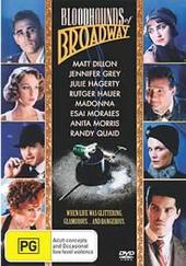 The Bloodhounds Of Broadway on DVD