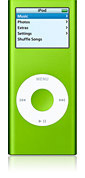 Apple iPod nano 4GB - Green