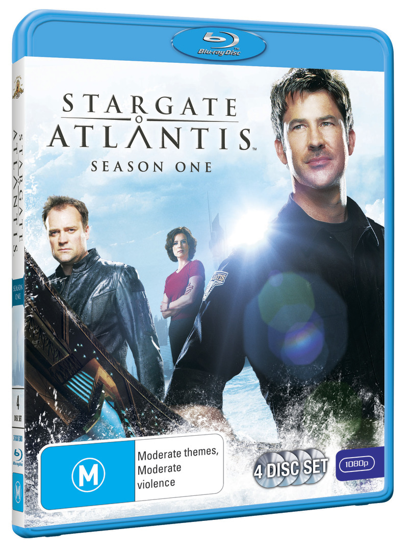 Stargate Atlantis - Season 1 on Blu-ray image