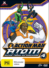 Action Man - A.T.O.M.: Alpha Teens On Machines - Vol. 4 on DVD