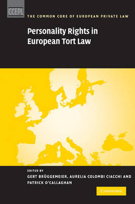 Personality Rights in European Tort Law image