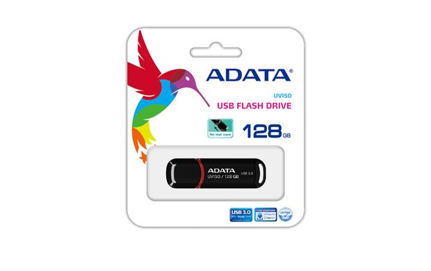128GB ADATA UV150 Dashdrive USB 3.0 Flash Drive (Black) image