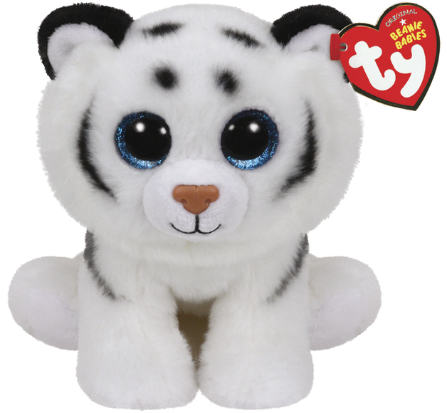 Ty Beanie Babies: Tundra White Tiger - Small Plush