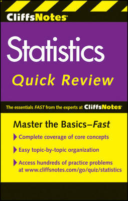 CliffsNotes Statistics Quick Review: 2nd Edition by David H Voelker