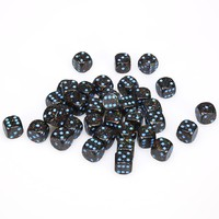 Chessex: D6 Speckled Cube Set (12mm) - Blue Stars image