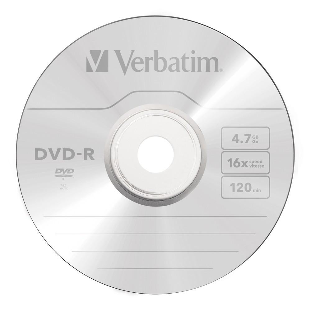 Verbatim DVD-R 4.7GB Spindle 16x (50 Pack) image