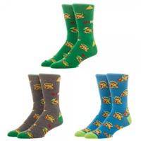 Legend of Zelda - Crew Sock Set (3 Pack)