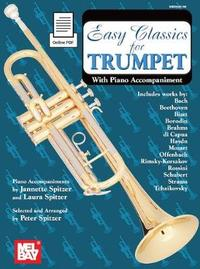 Easy Classics for Trumpet by Peter Spitzer