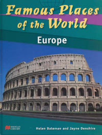 Famous Places of the World Europe Macmillan Library by Helen Bateman image