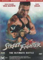 Streetfighter - The Movie on DVD