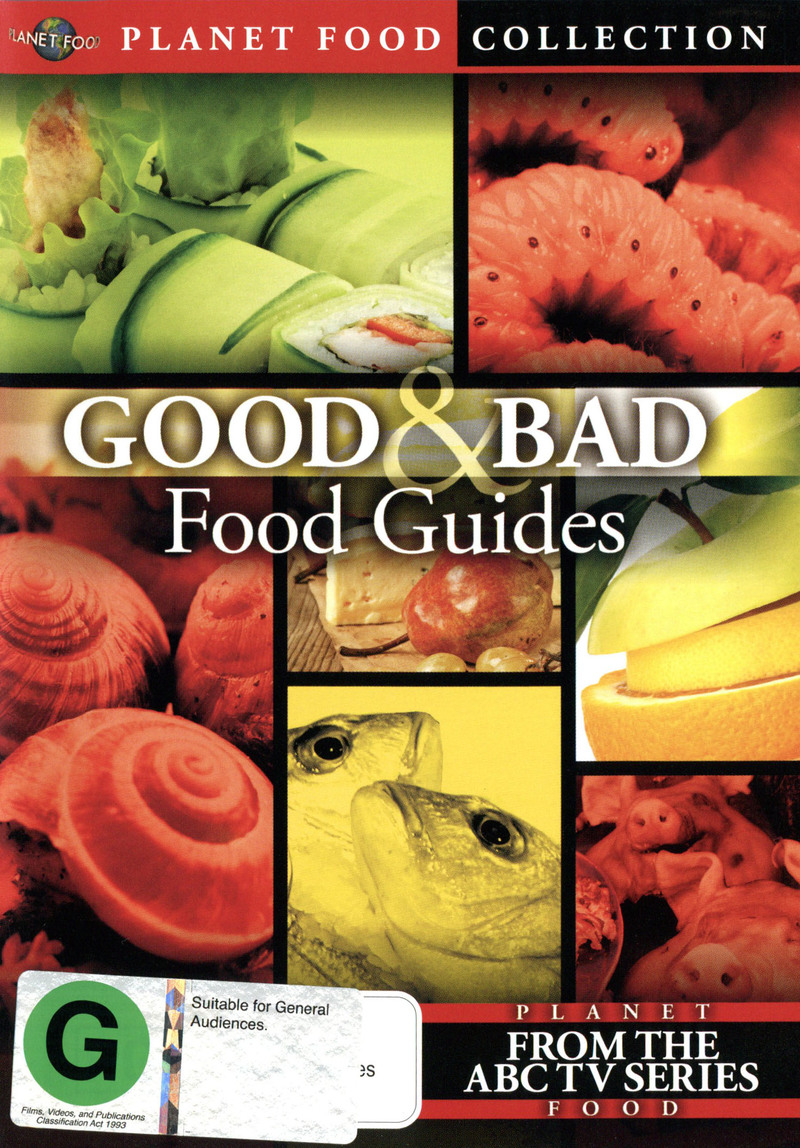 Good & Bad Food Guides on DVD image