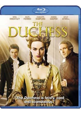 The Duchess on Blu-ray