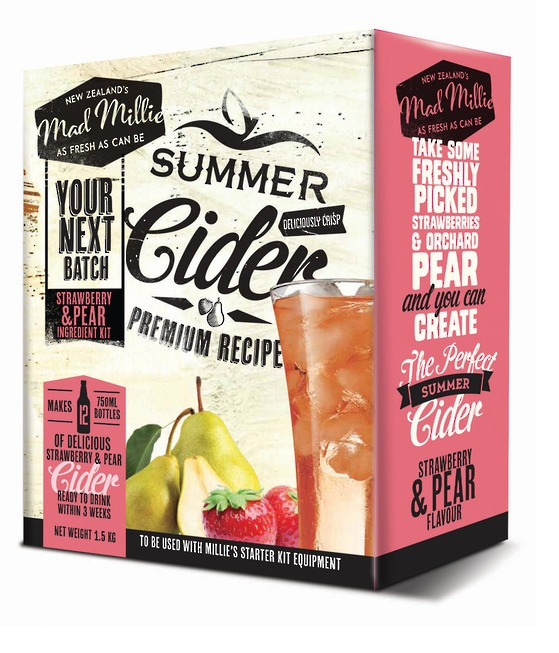 Mad Millie - Next Batch Cider Kit (Strawberry & Pear) image