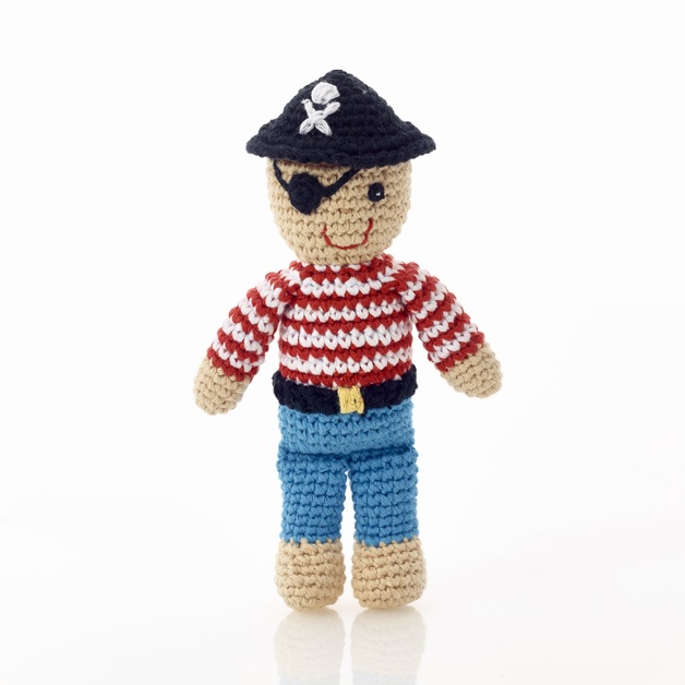 Pebble: Pirate Rattle - Mini