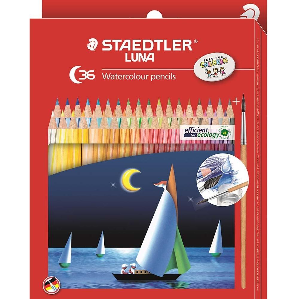 Staedtler Luna 137 Watercolor Pencils (36 Pack) image