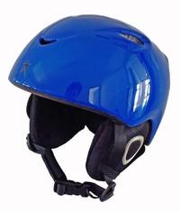 Alpine Star: Glossy Blue H02 Kids Helmet (Medium/Large)