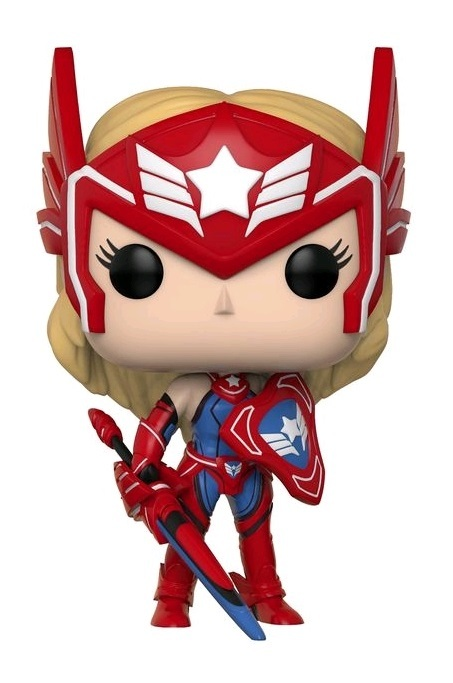 Marvel: Future Fight - Sharon Rogers (as Captain America) Pop! Vinyl Figure