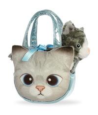 Aurora: Fancy Pal Pet Carrier – Grey Tabby