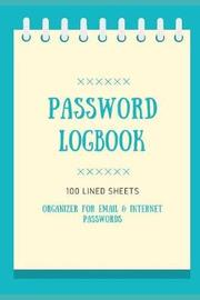 Password Logbook by Miles Publishing
