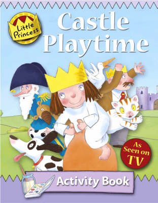 Little Princess Activity Book: Castle Playtime by Tony Ross image