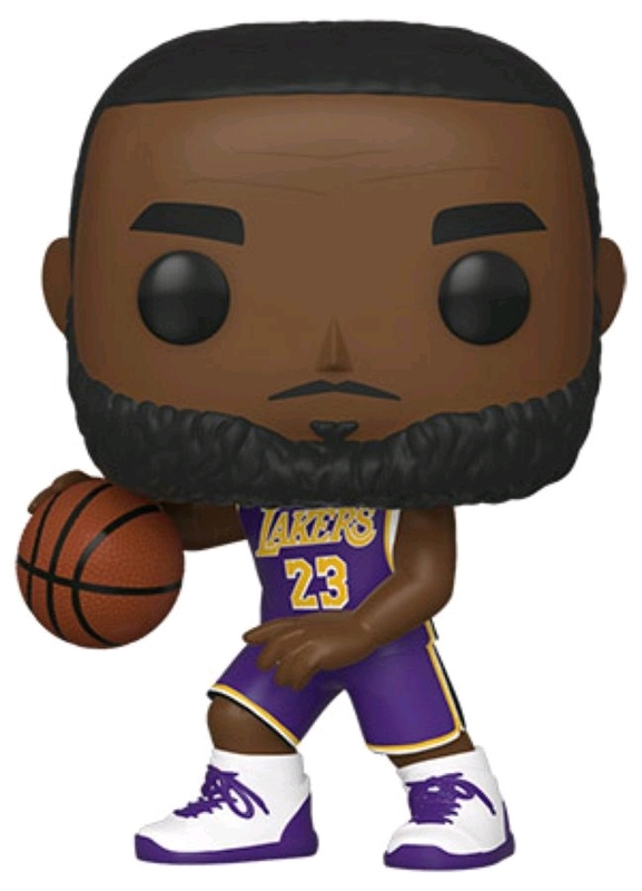 NBA: Lakers - Lebron James Pop! Vinyl Figure