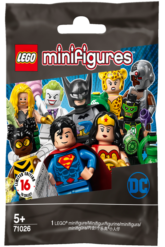 LEGO Minifigures - DC Super Heroes Series (71026)