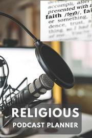 Religious Podcast Planner by Gail Notebooks image