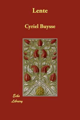 Lente by Cyriel Buysse