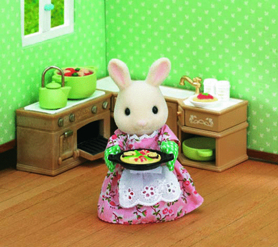 Sylvanian Families: Kitchen Cooking Set