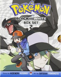 Pokemon Black & White Box Set 2 (Volumes 9-14) by Hidenori Kusaka