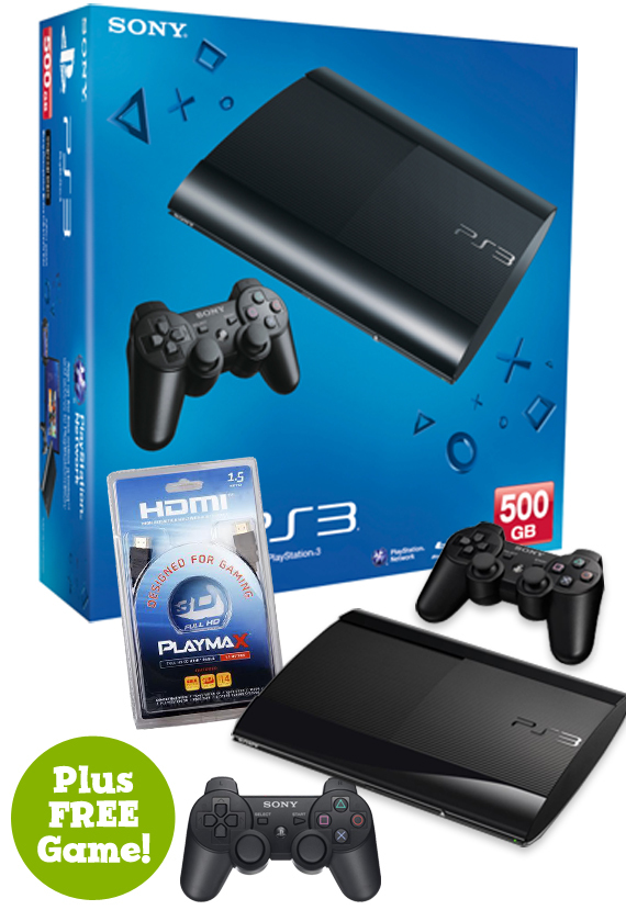 PS3 500GB Console (Black) for PS3 image