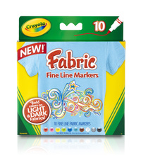 Crayola: 10 Fabric Markers