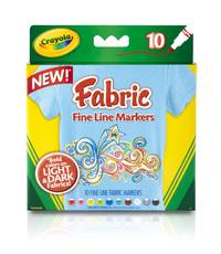 Crayola: 10 Fabric Markers
