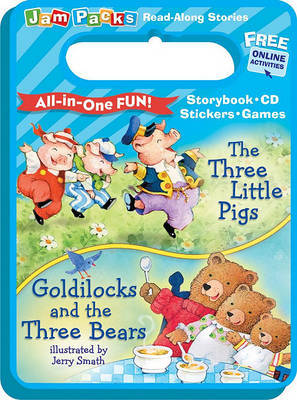 The Three Little Pigs and Goldilocks and the Three Bears: Storybook, CD and Activities by Reader's Digest image