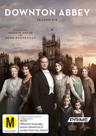 Downton Abbey - Season Six on DVD image