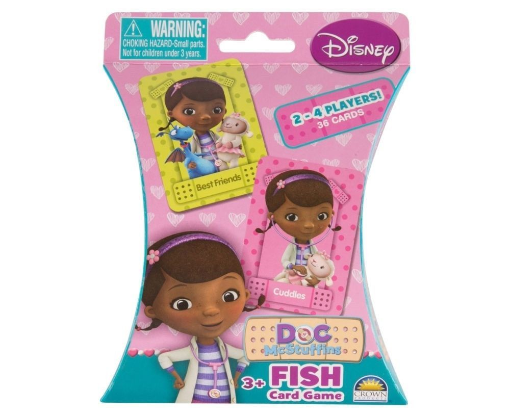 Disney Doc Mcstuffins Fish Card Game Toy At Mighty