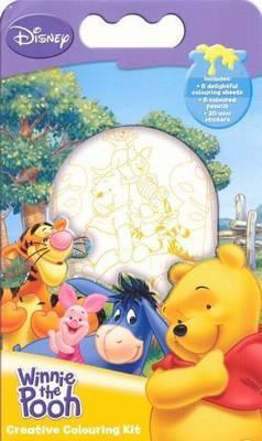 Winnie The Pooh Disney Colouring Kit image