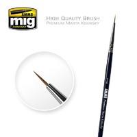 Ammo of Mig Jimenez 5/0 Premium Marta Kolinsky Round Brush