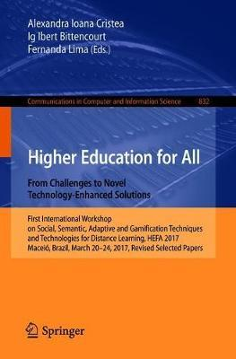 Higher Education for All. From Challenges to Novel Technology-Enhanced Solutions image