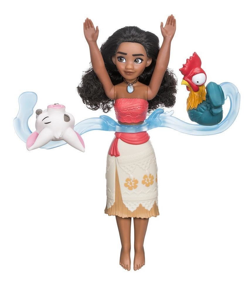 Disney: Spin & Swim Moana - Waterplay Doll Set image