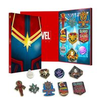 Marvel: Captain Marvel Pin Set