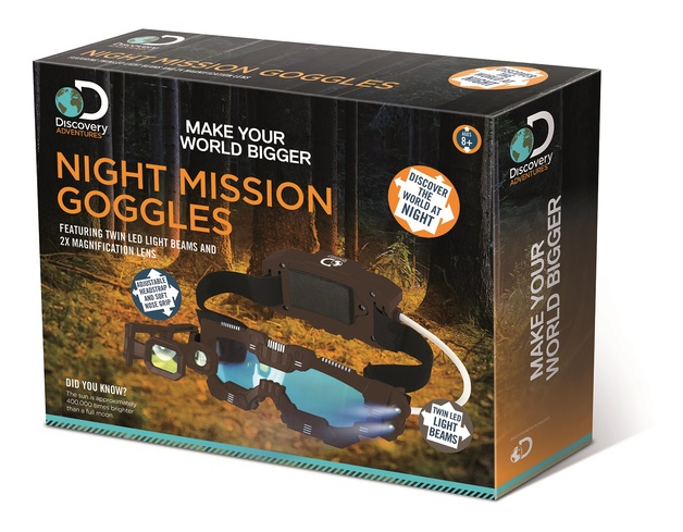 Discovery Kids: Night Mission Goggles