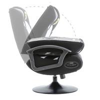 BraZen Pride 2.1 Bluetooth Surround Sound Gaming Chair (Grey) for
